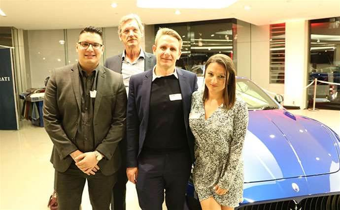 Night in the fast lane for Schneider Electric's partners