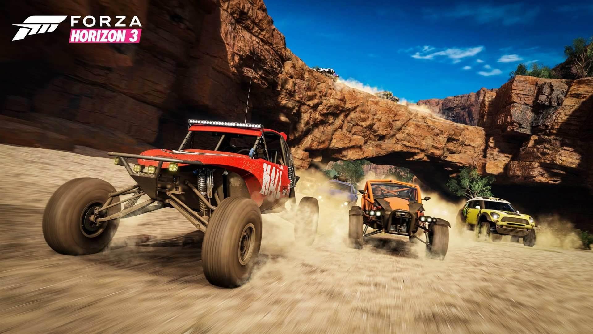 Zoomy shots from Forza Horizon 3