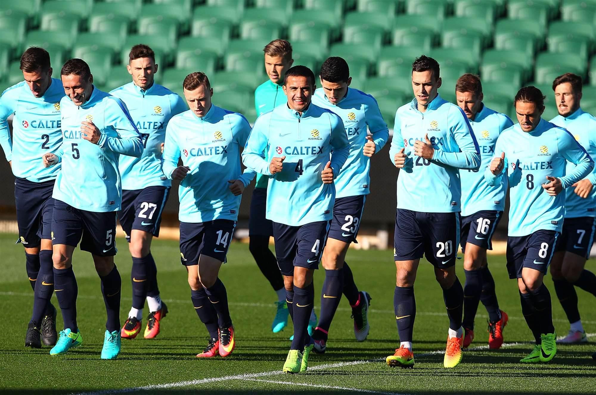 Socceroos prepare for Iraq
