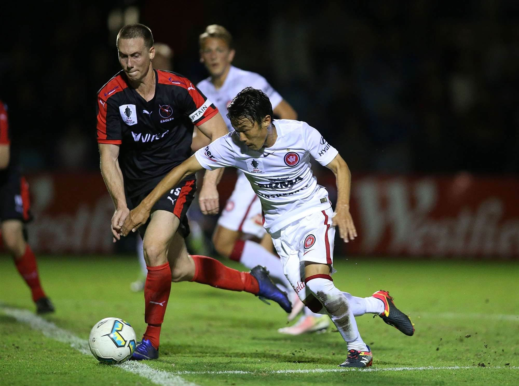 FFA Cup pics: Fight for the final eight