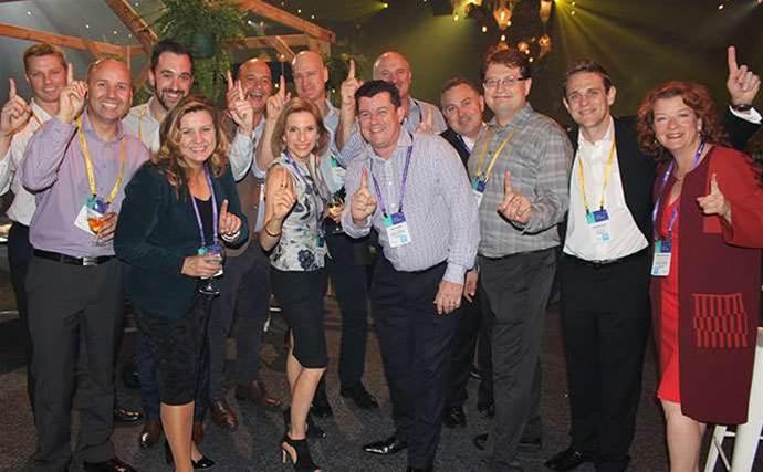 Opening night at Microsoft APC 2016