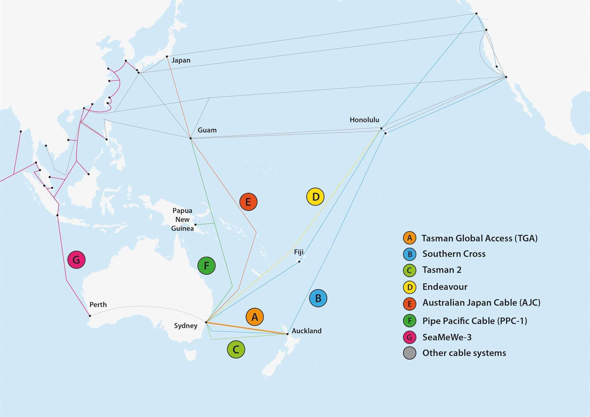 Photos: $93m Sydney to NZ undersea cable