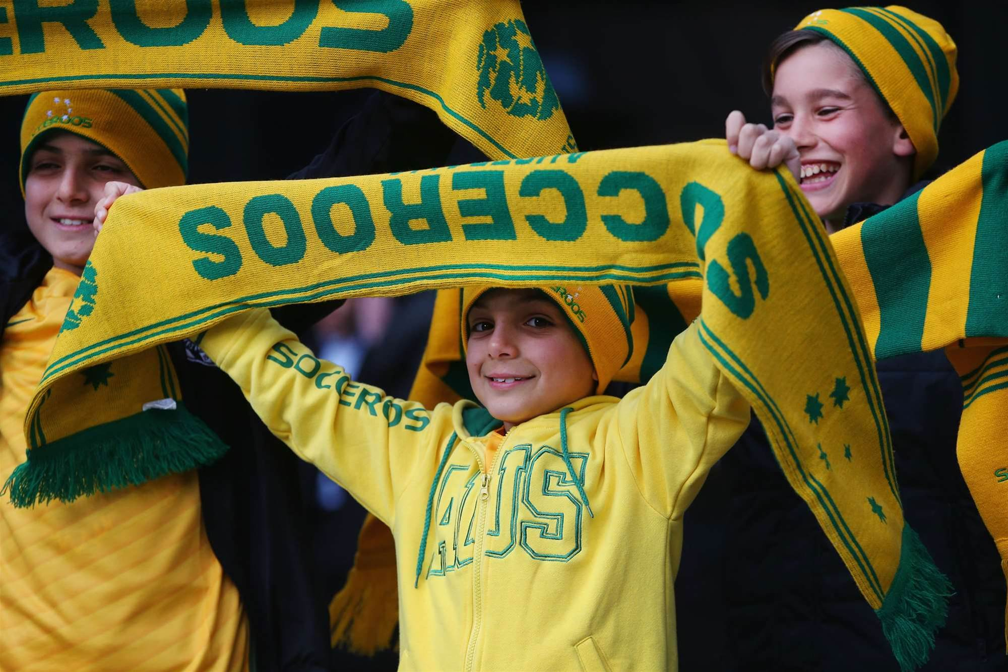 Socceroos v Japan fan pics