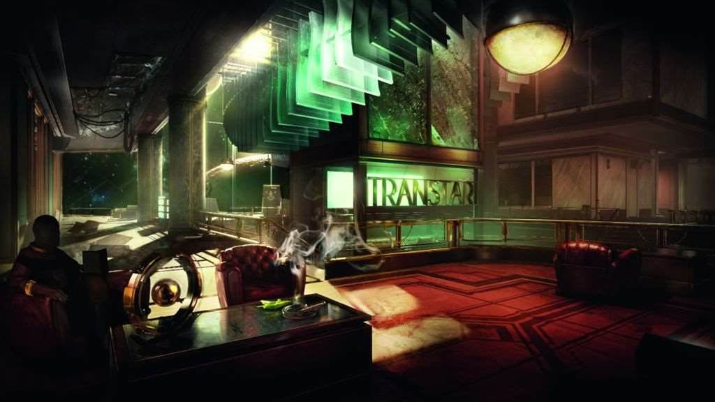 Screens and art from Prey