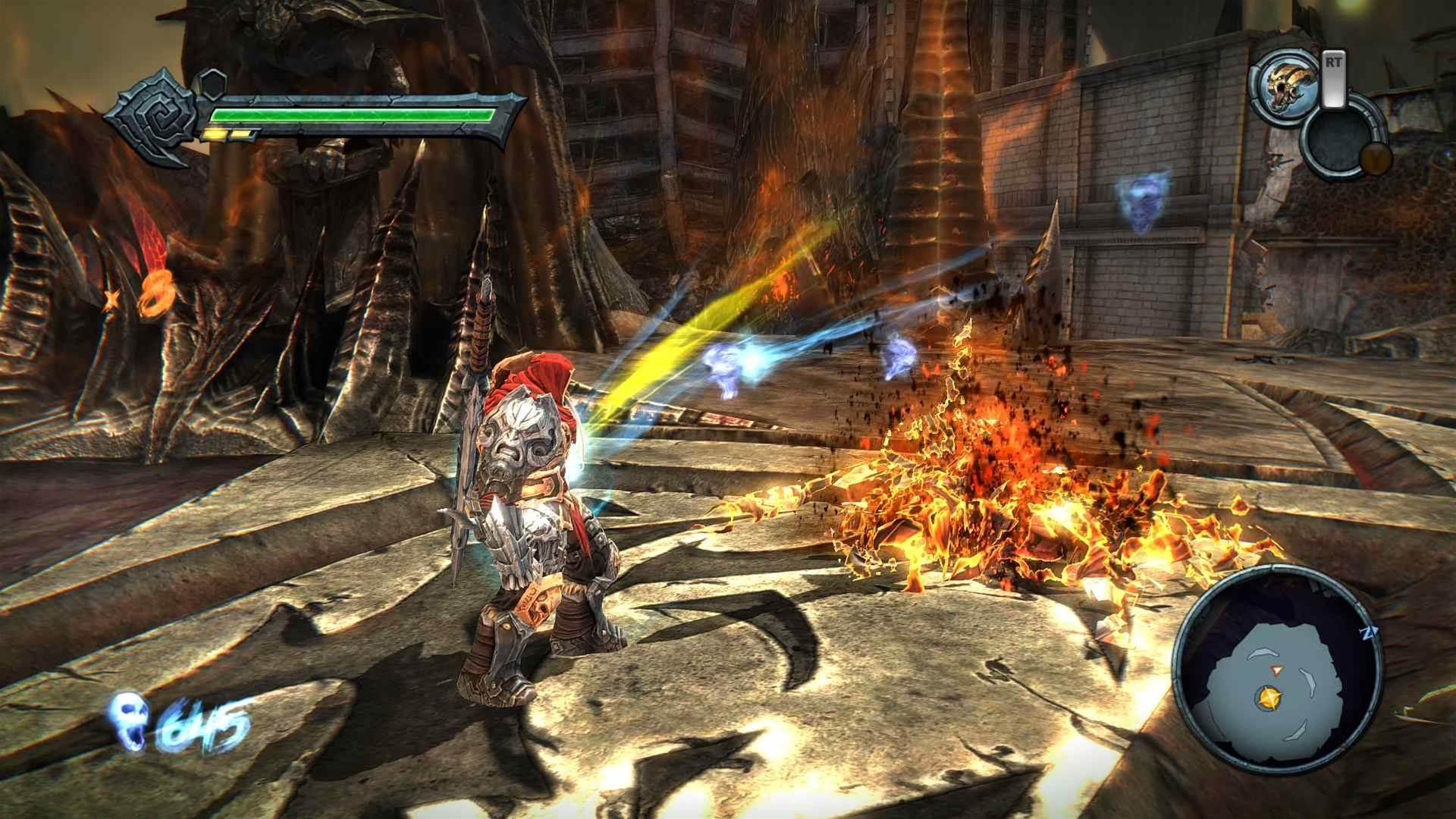 A war chest of Darksiders Warmastered Edition screenshots