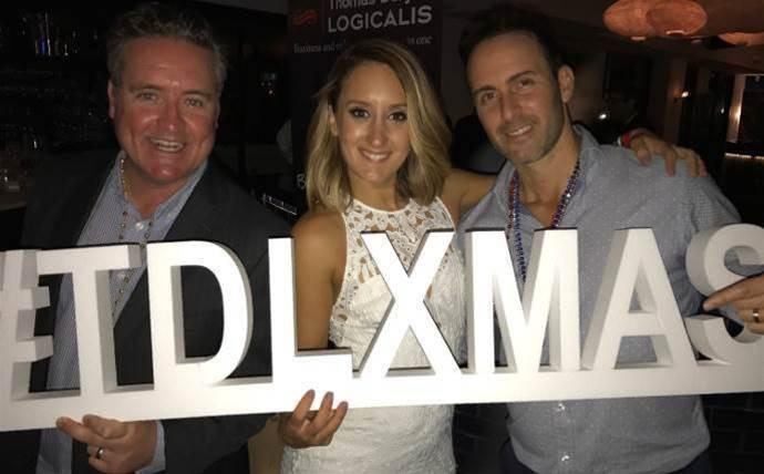 Thomas Duryea Logicalis celebrates with partners, customers and vendors