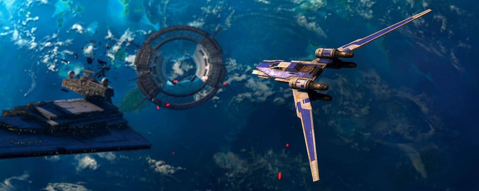 A gorgeous fan collection of Battlefront Scarif DLC shots