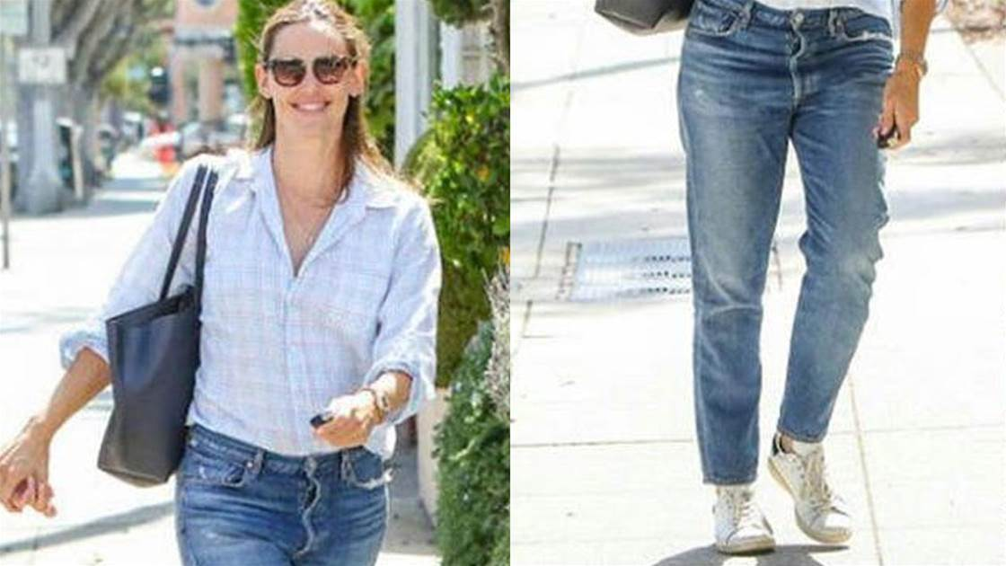 Jennifer Garner's Laid-Back Look
