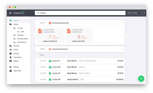 First looks at Invoice2go