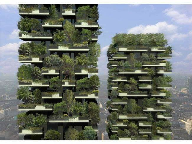 """Seriously """"Green"""" Building"""