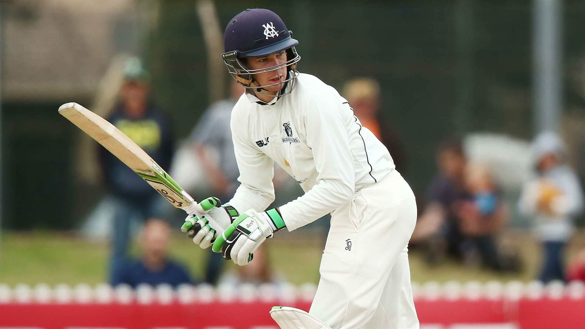 The curious case of the Victorian top-order batsman