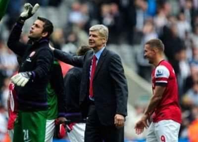 Wenger praises Arsenal belief