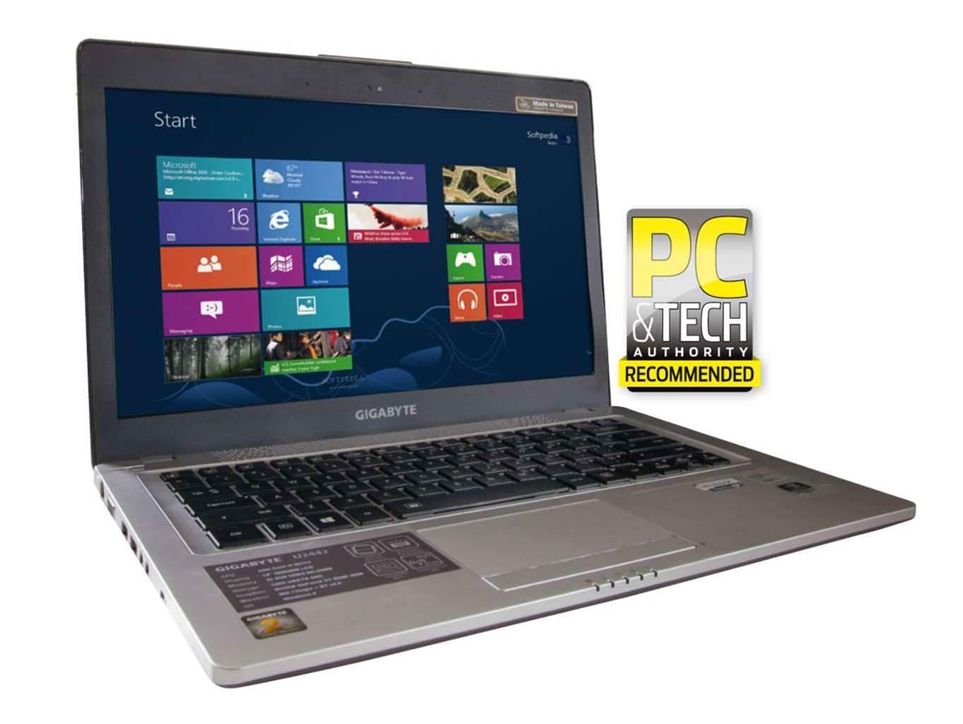 Review: Gigabyte U2442F Ultrabook
