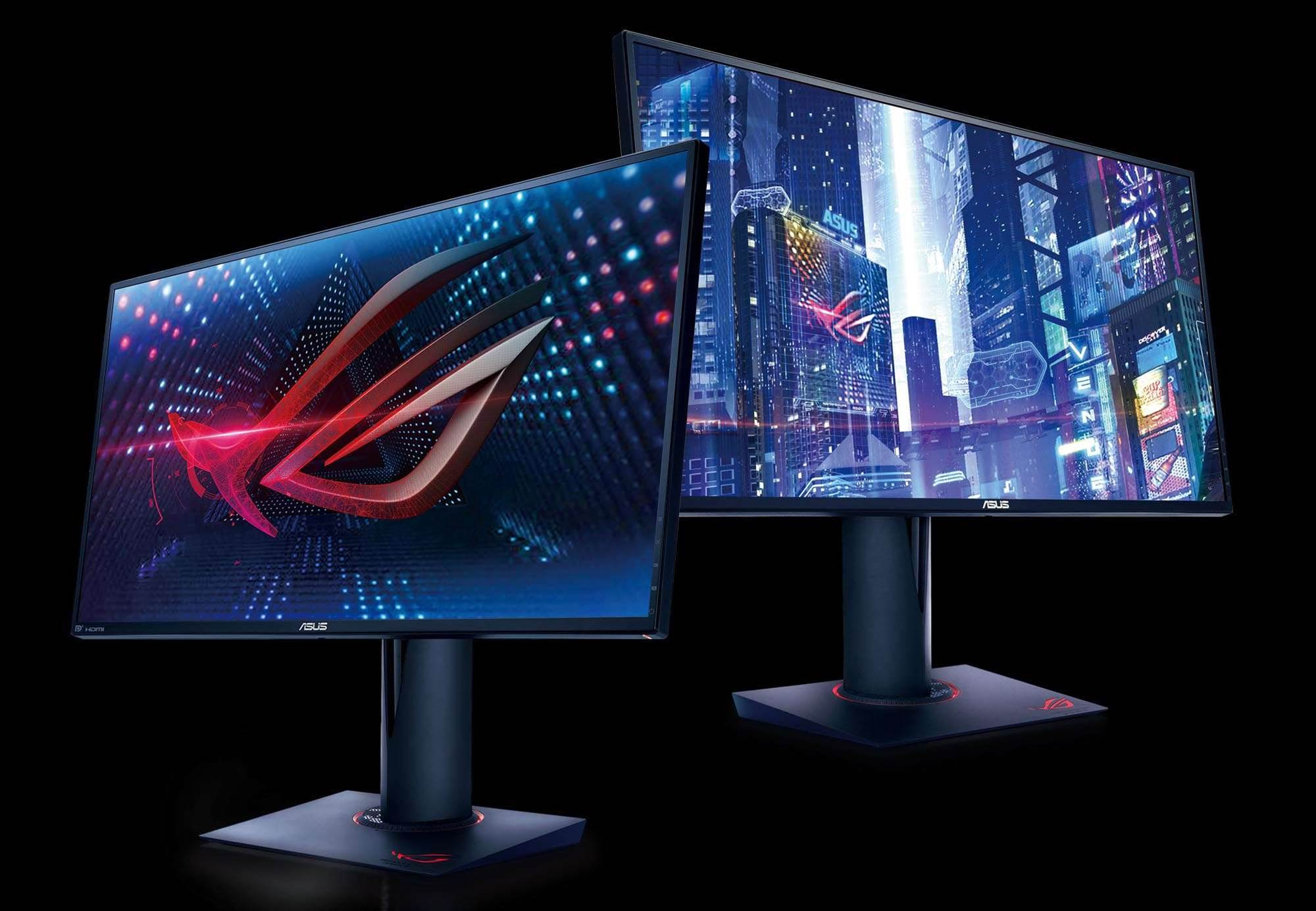 Asus reveals two new ROG monitors
