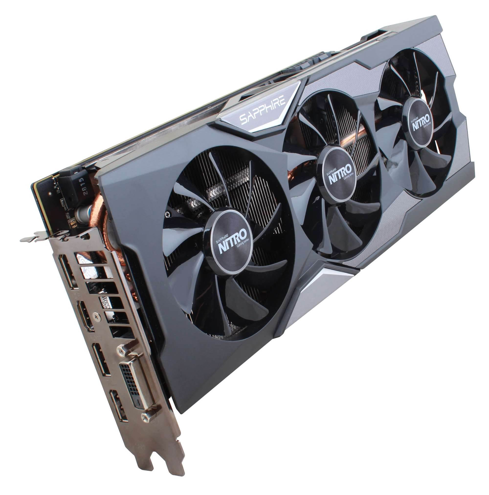 Sapphire launches super-quiet NITRO Radeon R9 FURY