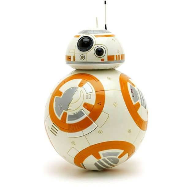 Watch Star Wars: The Force Awakens with BB-8
