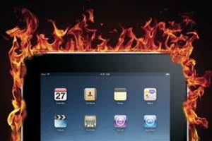 Apple's iPad throws off much more heat