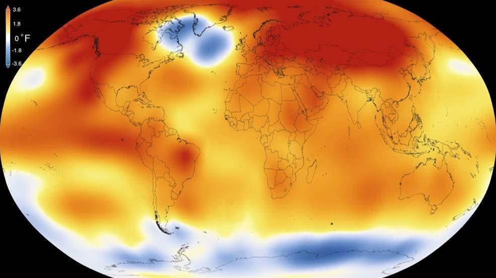 It's Official: 2015 The Warmest Year In Recorded History