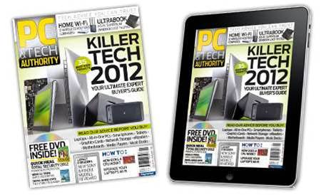 New magazine and iPad issue! Killer Tech for 2012, plus dual band WiFi routers