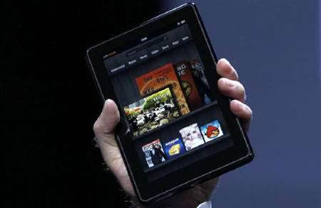 Amazon loses US$10 on each tablet it sells