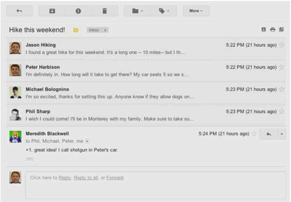 Gmail in line for Google+ facelift