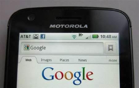 Google seeks EU approval for Motorola Mobility deal