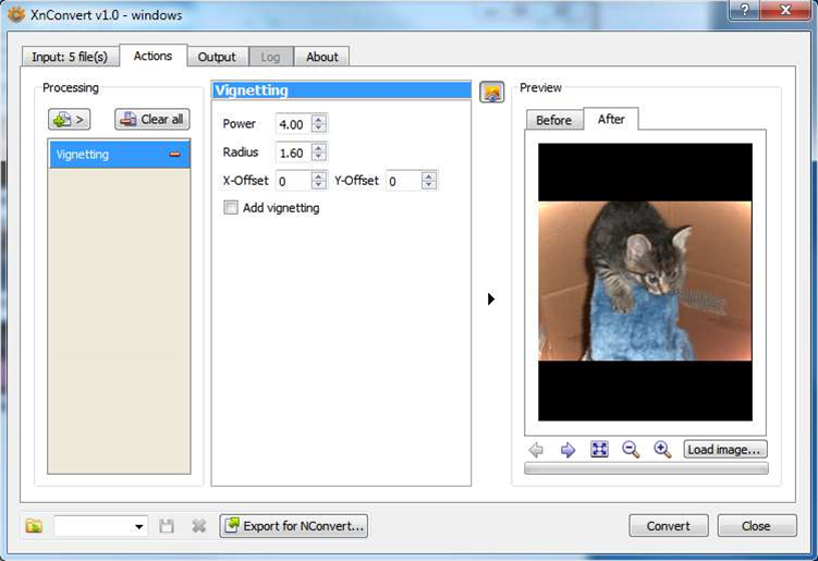 Quickly batch convert images with the free, cross-platform XnConvert