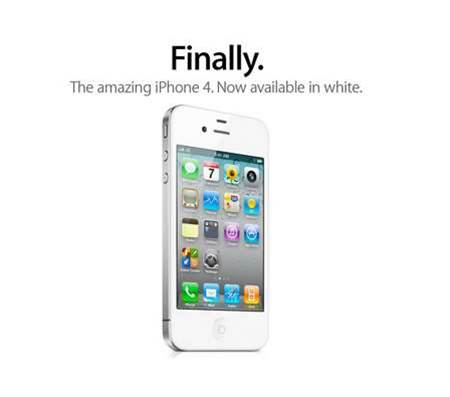 White iPhone finally available in Australia