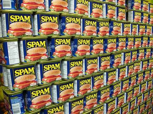 Which social networks hold the most spam?