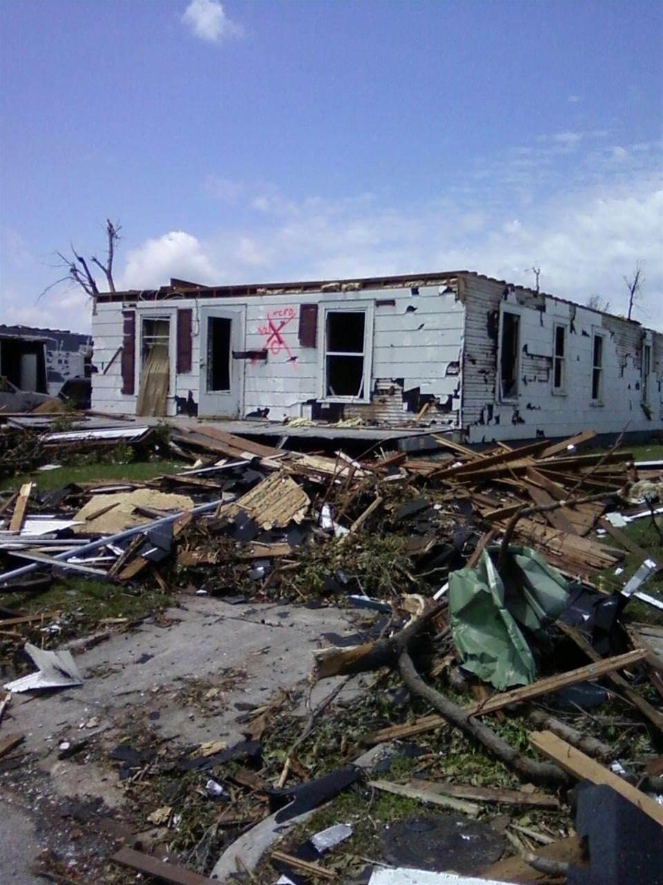 PC owner proud of his tornado-surviving PC