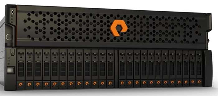Enterprise served pure flash storage