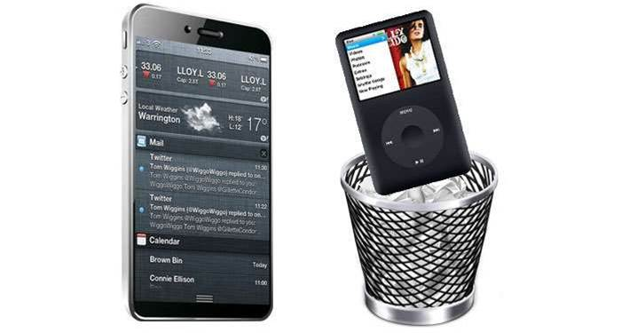Rumour: Apple to scrap iPod range?