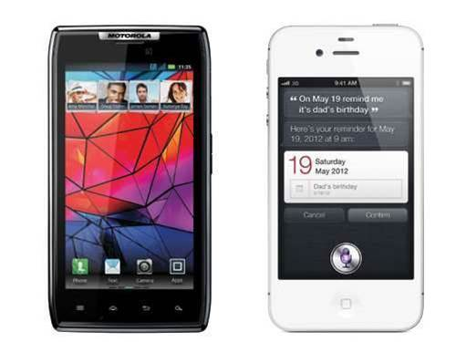 Which smartphone should you buy? Motorola RAZR vs iPhone 4S