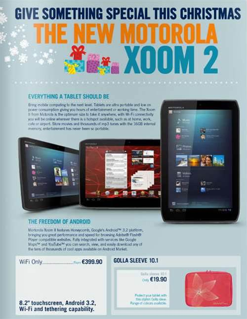 Xoom 2 coming for Christmas?