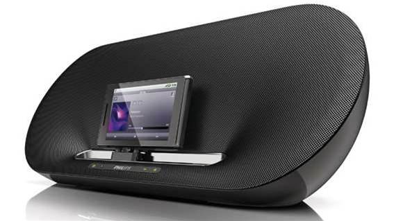 Philips releases world's first Android speaker docks
