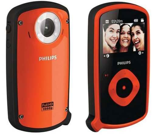 Philips launches hard as nails Esee pocket camcorder
