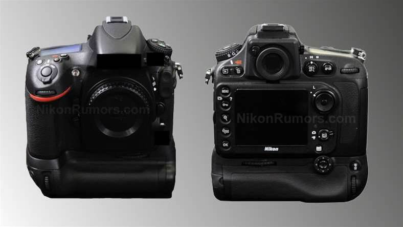 Nikon D800 DSLR snapped and leaked