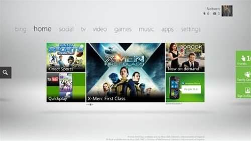 Xbox 360 dashboard update coming 6 December