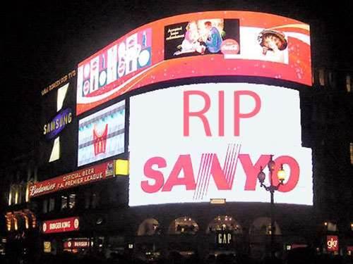 RIP Sanyo