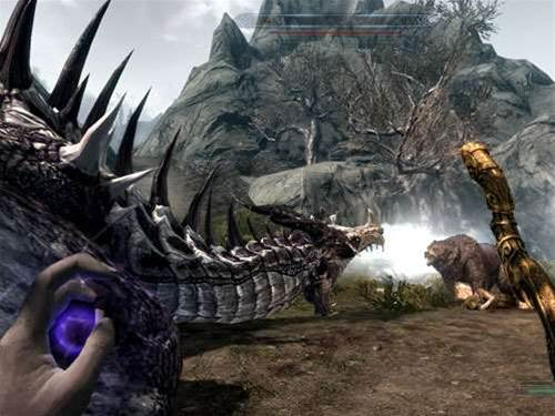 Virtual Reality comes to Skyrim