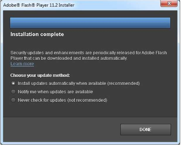 Adobe drops IE6 Flash support