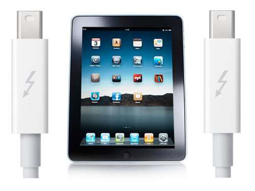 Apple makes Thunderbolt-equipped iDevices