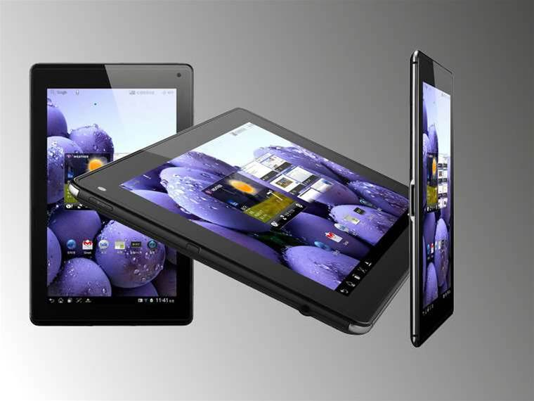 LG officially unveils the Optimus Pad LTE