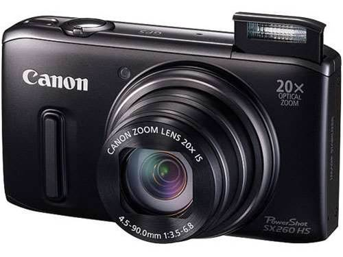 Canon's new PowerShot SX260 HS and SX240 HS compacts have 20x optical zoom