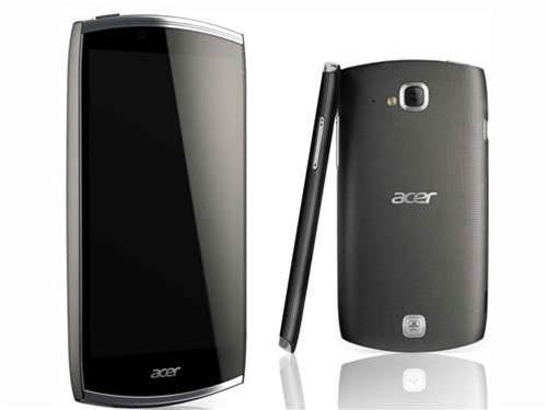 Details cloudy on Acer's first smartphone