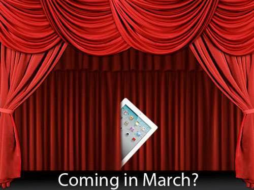 iPad 3 launch date firms