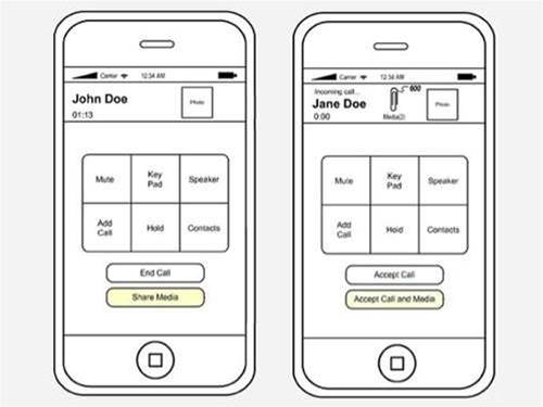 iPhone 5 to allow in-call file sharing