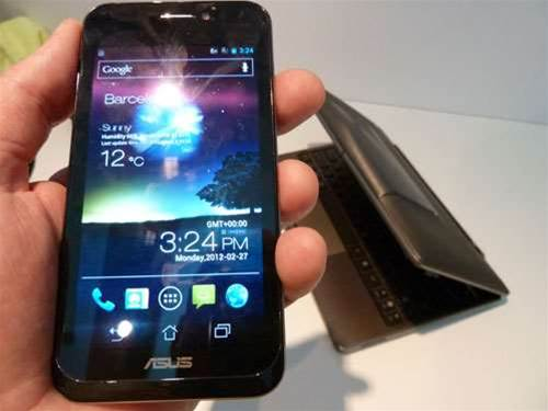 MWC 2012 – Asus Padfone hands-on