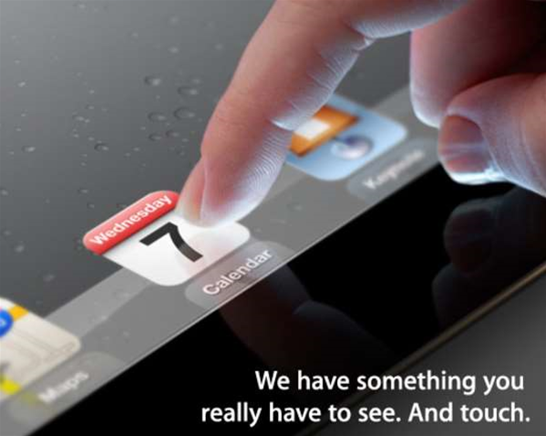 Apple confirms iPad 3 launch date