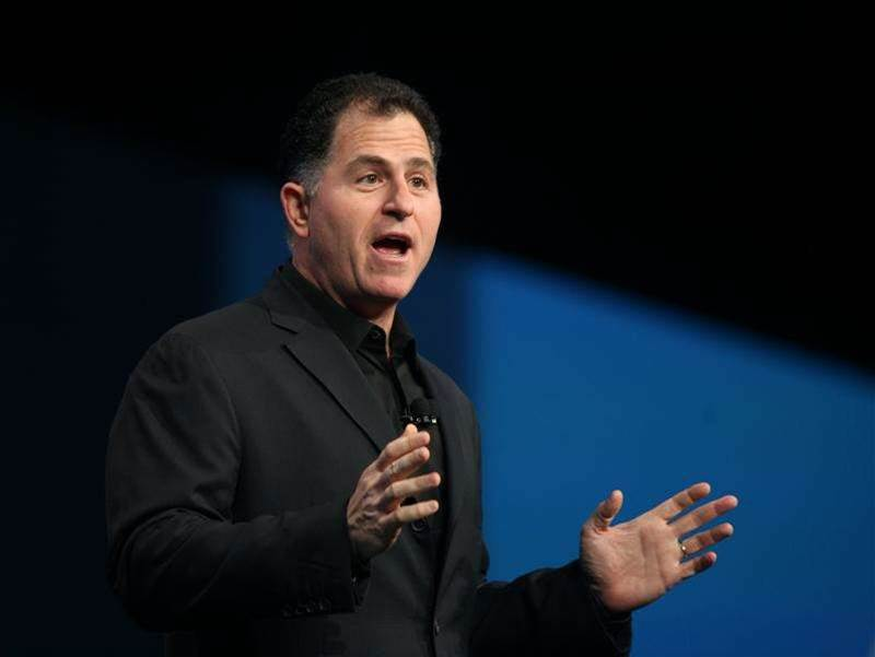 Michael Dell plays 'free agent' as forces bear on PC maker